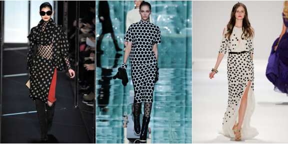 Polka Dots fashion 2011